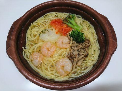 スープDE食べる!海老ときのこのパスタ(コンソメ味)