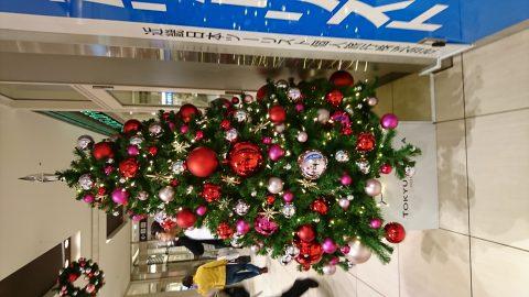 近畿日本ツーリストのクリスマスツリー